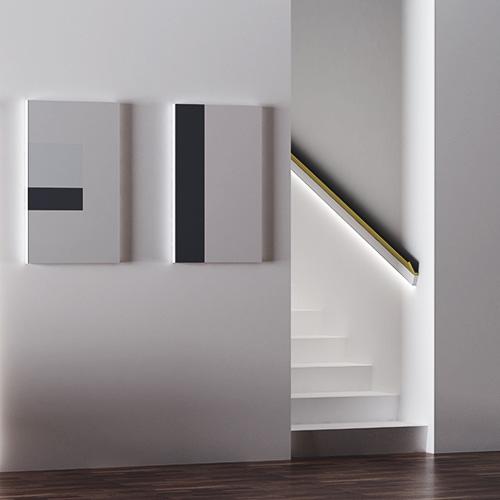 Eleni Lighting - segnapasso piano per parete EL501