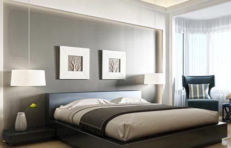 Eleni Lighting profili illuminazione indiretta led per interno superficie soffitto letto