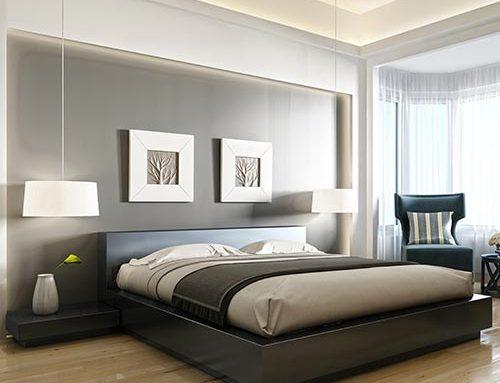L'illuminazione indiretta nella camera da letto
