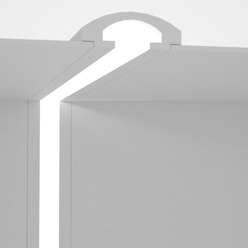 cornice for indirect lighting cut