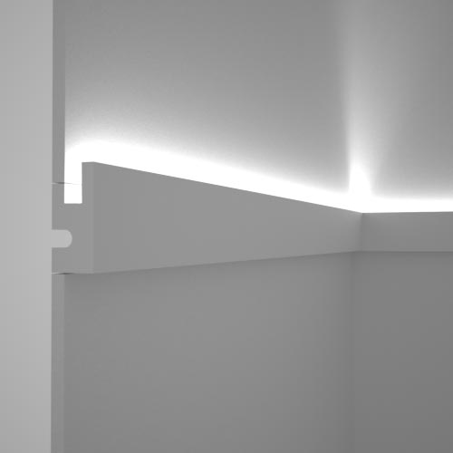 EL301 - cornice for indirect lighting cut