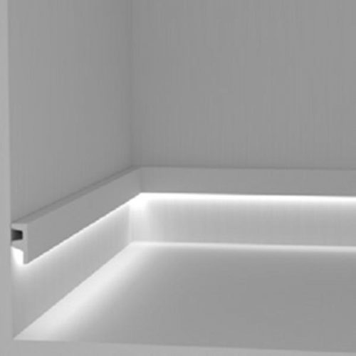 EL501 - cornice for indirect lighting walkway ste-lighting