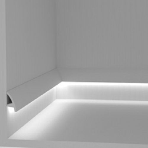 EL502 - cornice for indirect lighting walkway ste-lighting