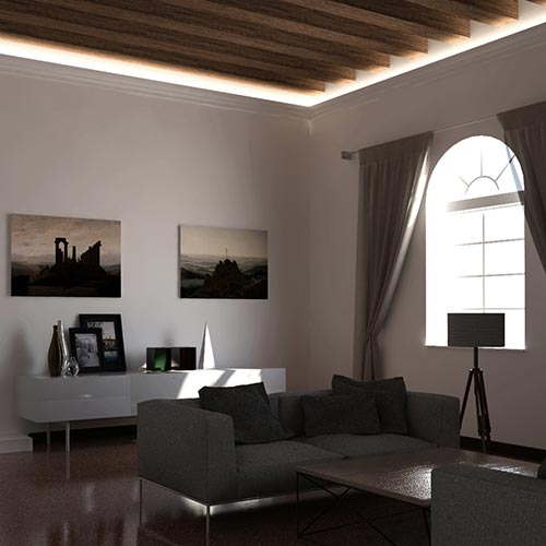 EL701 - cove lighting cornice