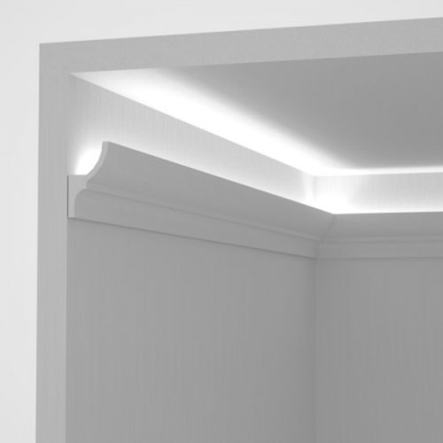 EL701 - cove lighting cornice for indirect lighting