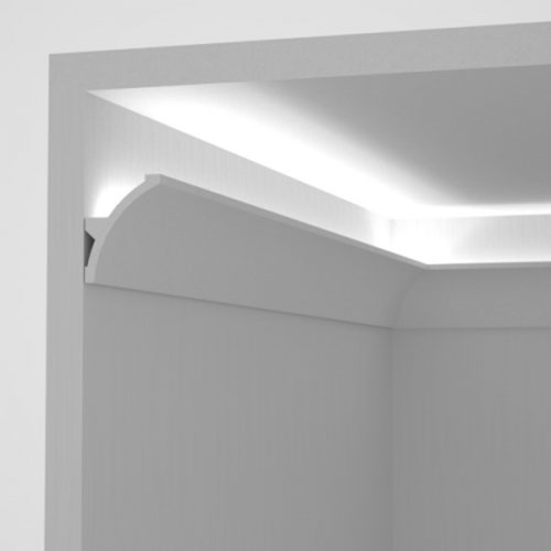 EL702 - cove lighting cornice for indirect lighting