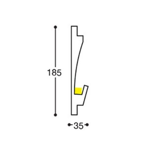 EL406 indirect lighting recessed cornice