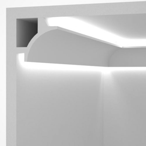 EL706 - cove lighting cornice for indirect lighting