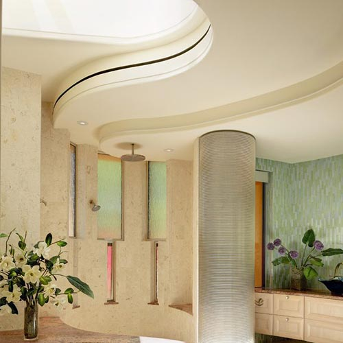 Eleni Lighting - cornice flessibile per parete curva led EL501