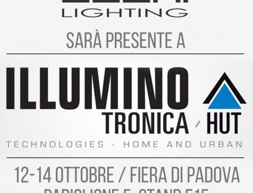 Fiera Illuminotronica 2017 a Padova