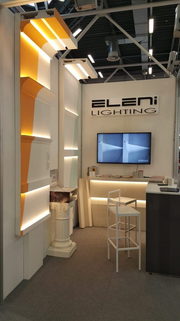 Eleni Lighting stand SAIE 2018