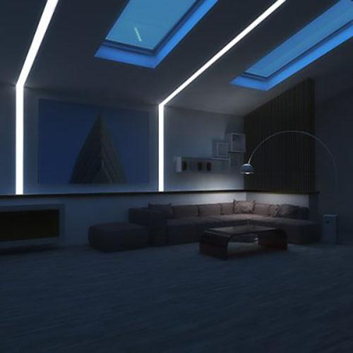 indirect lighting cornices